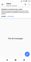 Sony Xperia XZ2 Compact - E-mail - Configuration manuelle (yahoo) - Étape 5
