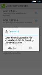 Alcatel Idol S - Ausland - Im Ausland surfen – Datenroaming - 2 / 2