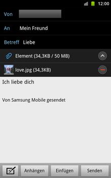 Samsung Galaxy Note - E-Mail - E-Mail versenden - 13 / 15