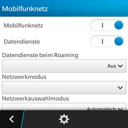 BlackBerry Q5 - Ausland - Im Ausland surfen – Datenroaming - Schritt 8