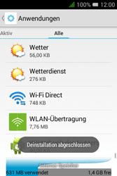 Alcatel Pixi 3 (3.5) - Apps - Eine App deinstallieren - Schritt 9