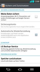 LG G2 - Fehlerbehebung - Handy zurücksetzen - Schritt 8