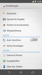 Sony Xperia Z1 - Software - Installieren von Software-Updates - Schritt 5