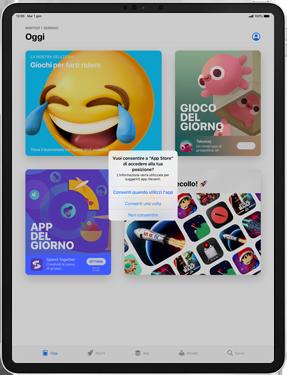 Apple iPad Pro 10.5 (1st gen) - iPadOS 13 - Applicazioni - Configurazione del negozio applicazioni - Fase 4