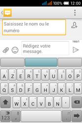 Alcatel OT-4015X Pop C1 - Contact, Appels, SMS/MMS - Envoyer un SMS - Étape 5