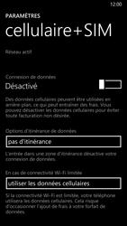 Nokia Lumia 930 - Internet et connexion - Désactiver la connexion Internet - Étape 6