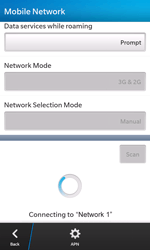 BlackBerry Z10 - Network - Manual network selection - Step 10