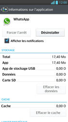 LG Optimus F5 - Applications - Supprimer une application - Étape 6