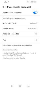 Huawei P Smart 2021 - Internet et connexion - Partager votre connexion en Wi-Fi - Étape 10