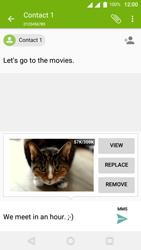 Wiko U-Feel Lite - MMS - Sending pictures - Step 17