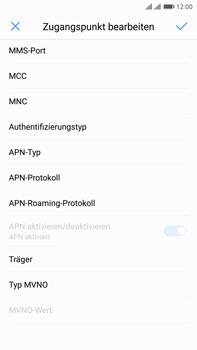 Huawei Mate 9 Pro - MMS - Manuelle Konfiguration - 14 / 26