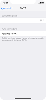 Apple iPhone X - iOS 12 - E-mail - configurazione manuale - Fase 17