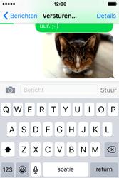 Apple iPhone 4S iOS 9 - MMS - hoe te versturen - Stap 13