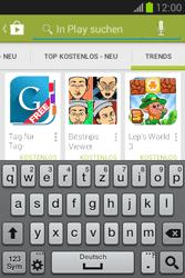 Samsung Galaxy Fame Lite - Apps - Installieren von Apps - Schritt 14