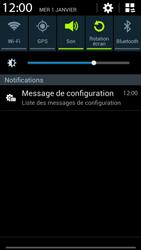 Samsung G386F Galaxy Core LTE - MMS - configuration automatique - Étape 4