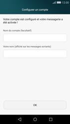 Huawei P8 Lite - E-mail - Configuration manuelle (outlook) - Étape 9