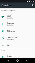 Motorola Moto G5s - WLAN - Manuelle Konfiguration - Schritt 4
