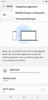 Samsung Galaxy J4 Plus - Internet - mijn data verbinding delen - Stap 8