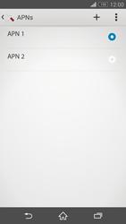 Sony Xperia Z3 - Internet - Apn-Einstellungen - 1 / 1