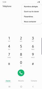 Samsung Galaxy Note10 Plus - Messagerie vocale - configuration manuelle - Étape 6