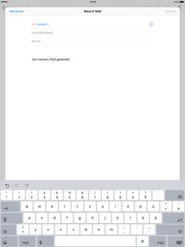 Apple iPad Pro 12.9 inch - E-Mail - E-Mail versenden - Schritt 6