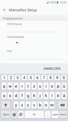 Samsung Galaxy S7 Edge - E-Mail - Manuelle Konfiguration - Schritt 10