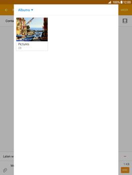 Samsung Galaxy Tab A 9.7 - MMS - Afbeeldingen verzenden - Stap 19