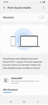 Samsung Galaxy A40 - Internet - comment configurer un point d'accès mobile - Étape 11