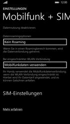 Nokia Lumia 930 - Netzwerk - Netzwerkeinstellungen ändern - 1 / 1