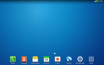 Samsung Galaxy Tab 3 10-1 LTE - Startanleitung - Installieren von Widgets und Apps auf der Startseite - Schritt 11