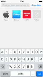 Apple iPhone 5c - Internet - internetten - Stap 3