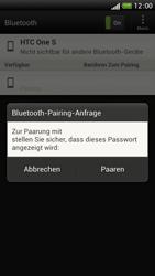 HTC One S - Bluetooth - Verbinden von Geräten - Schritt 7