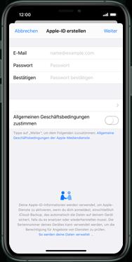 Apple iPhone XS - iOS 13 - Apps - Einrichten des App Stores - Schritt 9