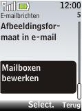 Nokia 2720 fold - E-mail - Handmatig instellen - Stap 6