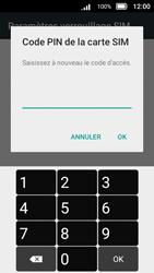 Doro 8031 - Sécuriser votre mobile - Personnaliser le code PIN de votre carte SIM - Étape 11