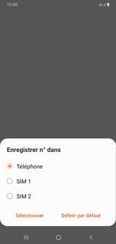 Samsung Galaxy A10 - Contact, Appels, SMS/MMS - Ajouter un contact - Étape 6