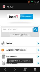Alcatel One Touch Idol Mini - Internet und Datenroaming - Verwenden des Internets - Schritt 17