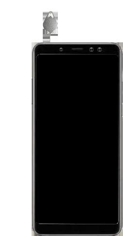 Samsung Galaxy A8 Plus (2018) - SIM-Karte - Einlegen - 0 / 0