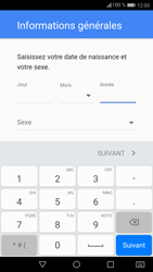 Huawei P9 Lite - Android Nougat - Applications - Créer un compte - Étape 7
