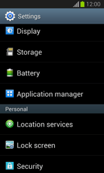Samsung Galaxy Trend Lite - Applications - How to uninstall an app - Step 4