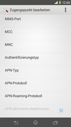 Sony Xperia M2 - Internet - Manuelle Konfiguration - Schritt 14