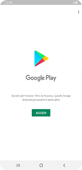 Samsung Galaxy Note9 - Android Pie - Applicazioni - Configurazione del negozio applicazioni - Fase 4