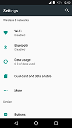 Crosscall Action X3 - Internet - Disable data roaming - Step 4