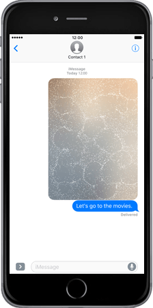 Apple Apple iPhone 7 - iOS features - Fonctions iMessage - Étape 8