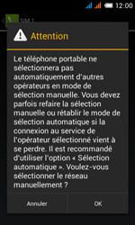 Alcatel One Touch Pop C3 - Réseau - Sélection manuelle du réseau - Étape 9