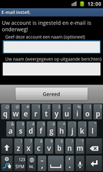 Samsung I9100 Galaxy S II - E-mail - e-mail instellen: POP3 - Stap 11