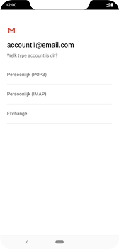 Nokia 8-1-dual-sim-ta-1119 - E-mail - Handmatig instellen - Stap 11