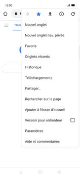 Oppo Find X2 Lite - Internet et connexion - Naviguer sur internet - Étape 21