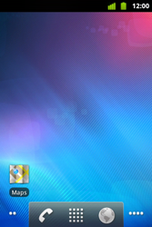 Alcatel OT-983 - Getting started - installing widgets and applications on your start screen - Step 8