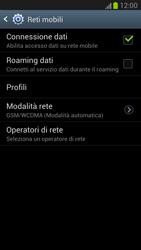 Samsung Galaxy Note II - Rete - Selezione manuale della rete - Fase 11